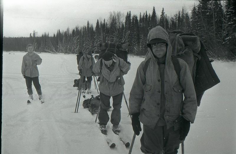 Студенты погибшей лыжной группы на пути своего маршрута