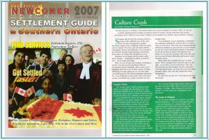 Мои статьи в канадском журнале для новых иммигрантов