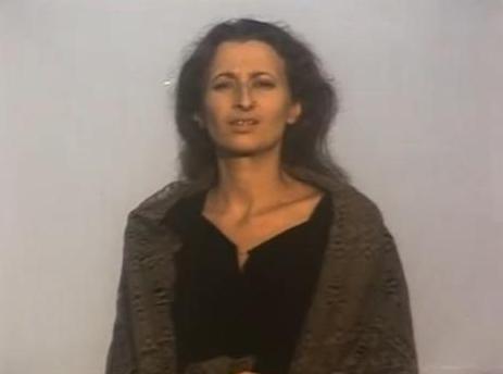 Мария Анатольевна Иткина, в роли Блажной певицы из мюзикла