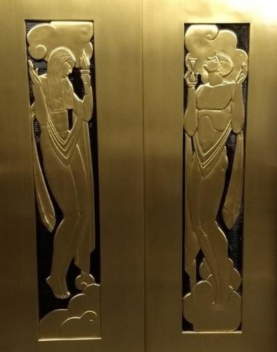 Дизайн дверей лифта
