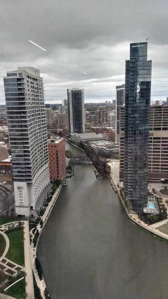 Северный приток реки Чикаго
