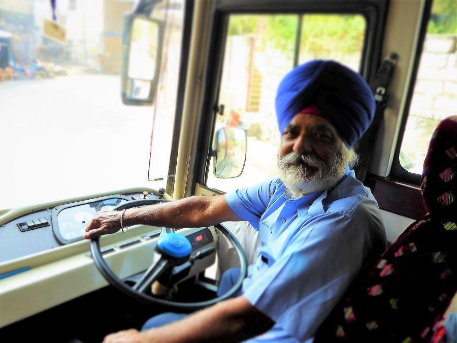 Наш шофёр, сикх из Пенджаба