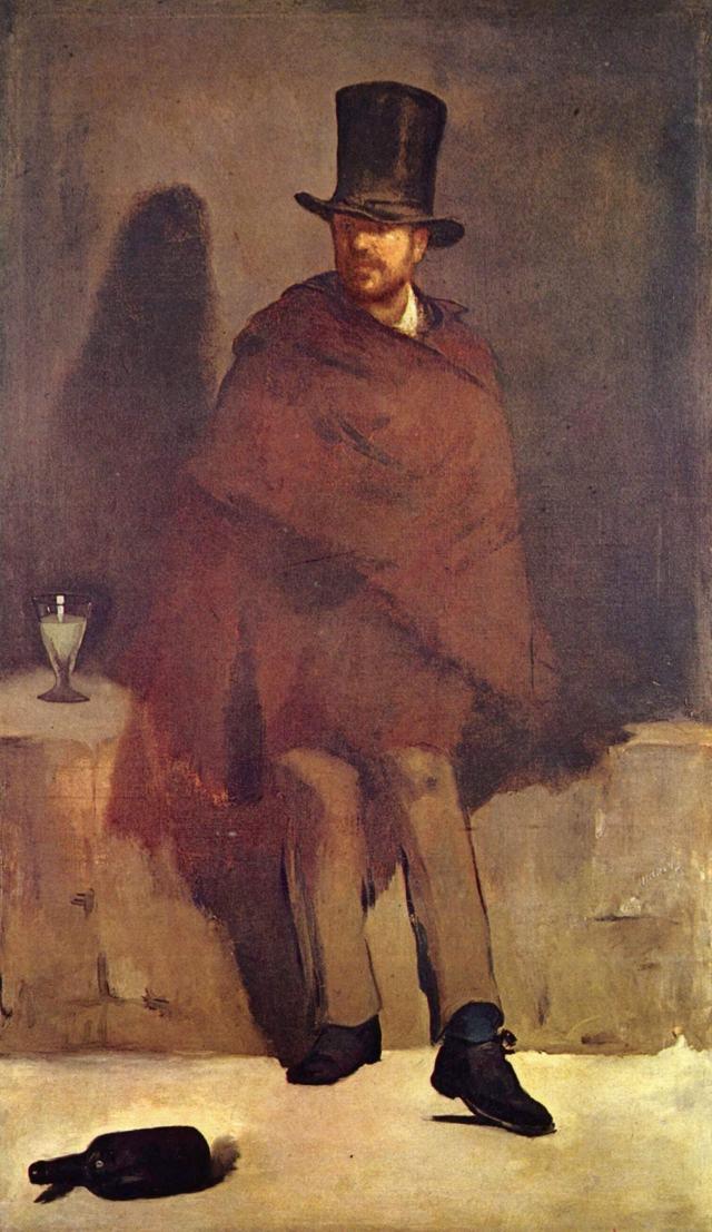 Эдуард Мане, Любитель абсента (1859)