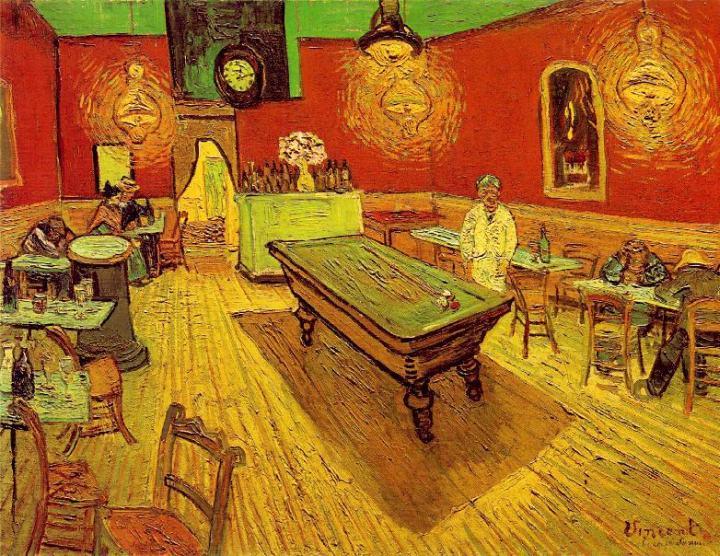 Ван Гог, Ночное кафе (1888)