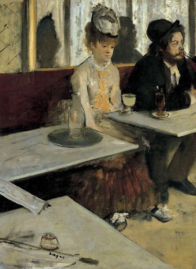 Эдгар Дега, Абсент (1876)