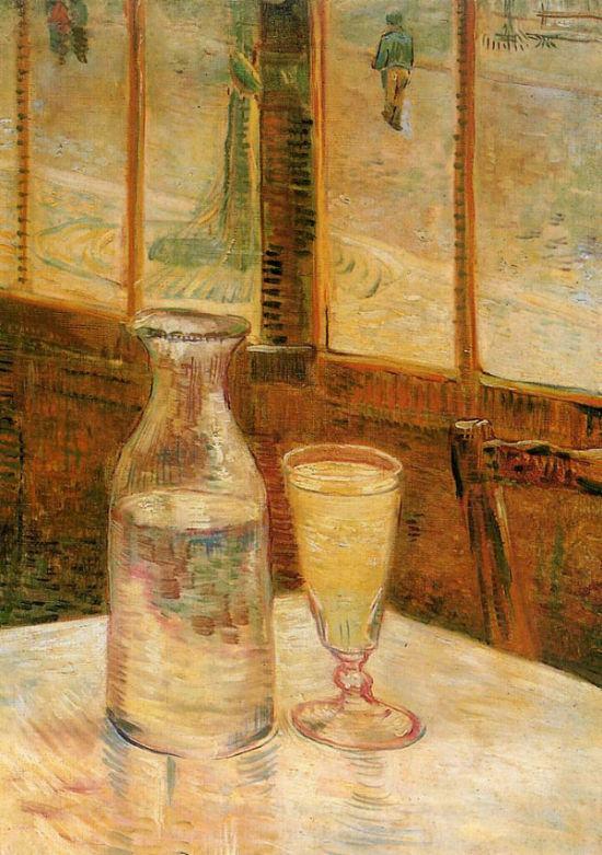 Ван Гог, Натюрморт с абсентом (1887)