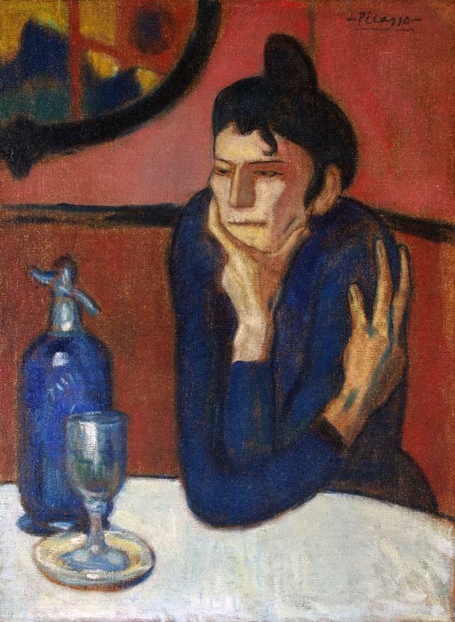 Пабло Пикассо. Любительница абсента (1901)