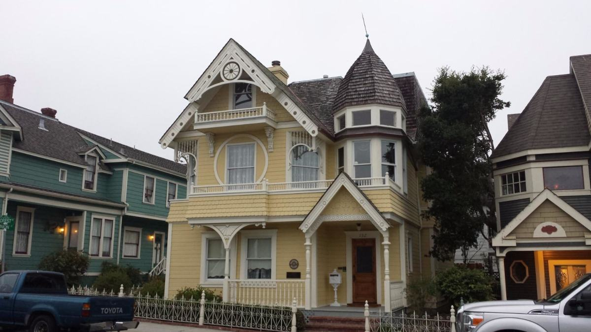 Pacific Grove. Дом второй половины 19 века