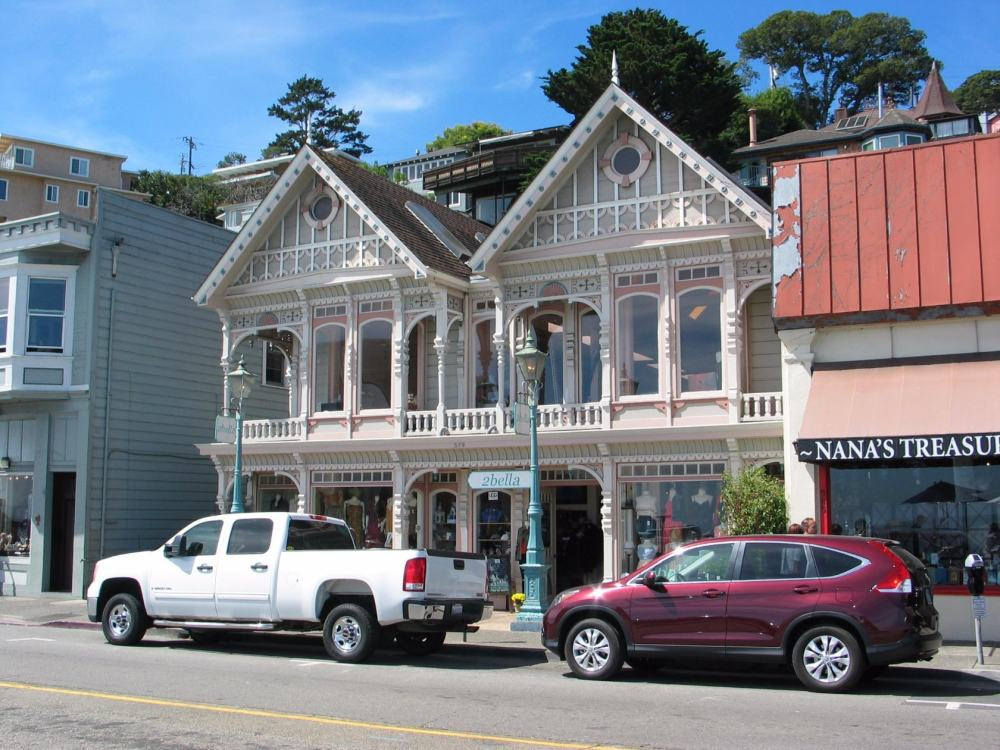 Sausalito. Главная улица города