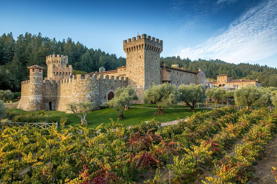 Castello-Di-Amorosa, Napa Valley