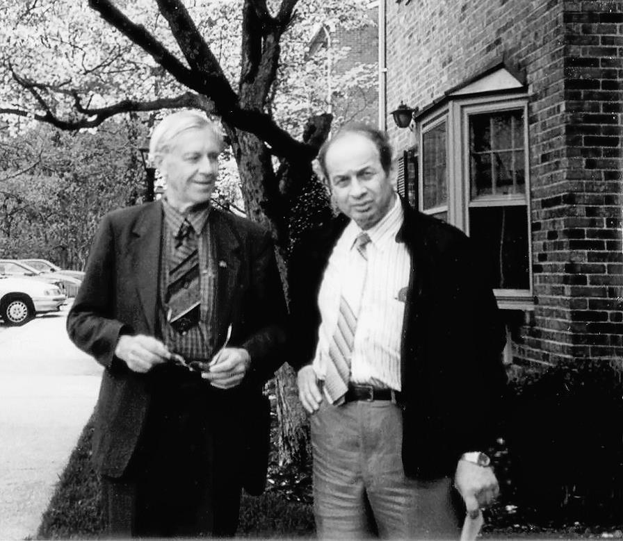 Юрий Вавилов и Семен Резник. Вашингтон, 1993