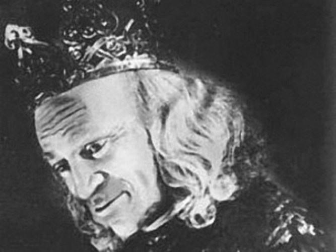 Михоэлс в роли короля Лира