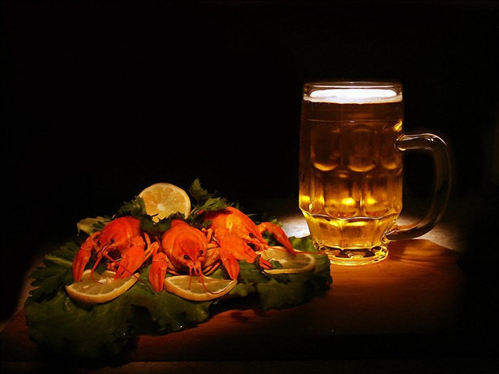 Раки и пиво
