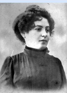 Александра — родная мать моего отца, 1905 год