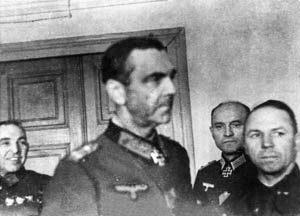 Маршал Паулюс в штабе 64-ой армии