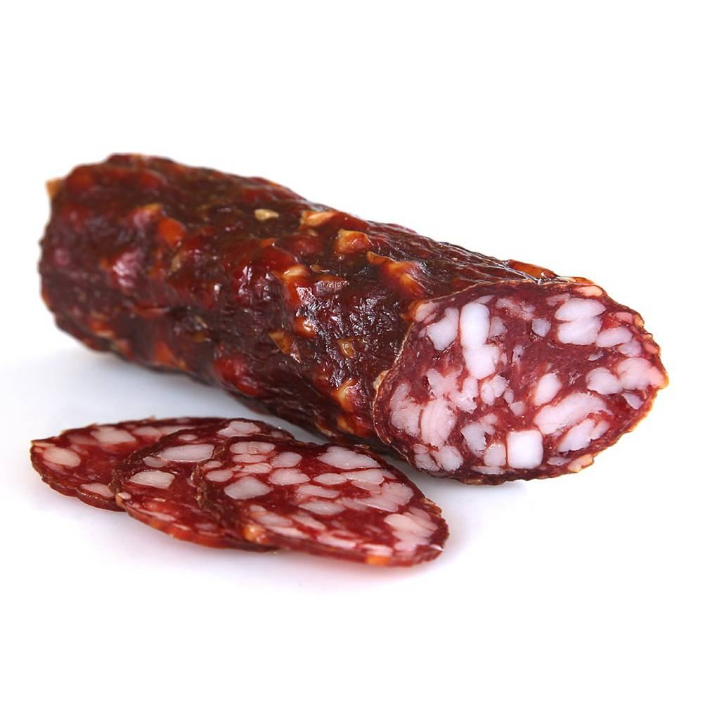 Сырокопчёная колбаса