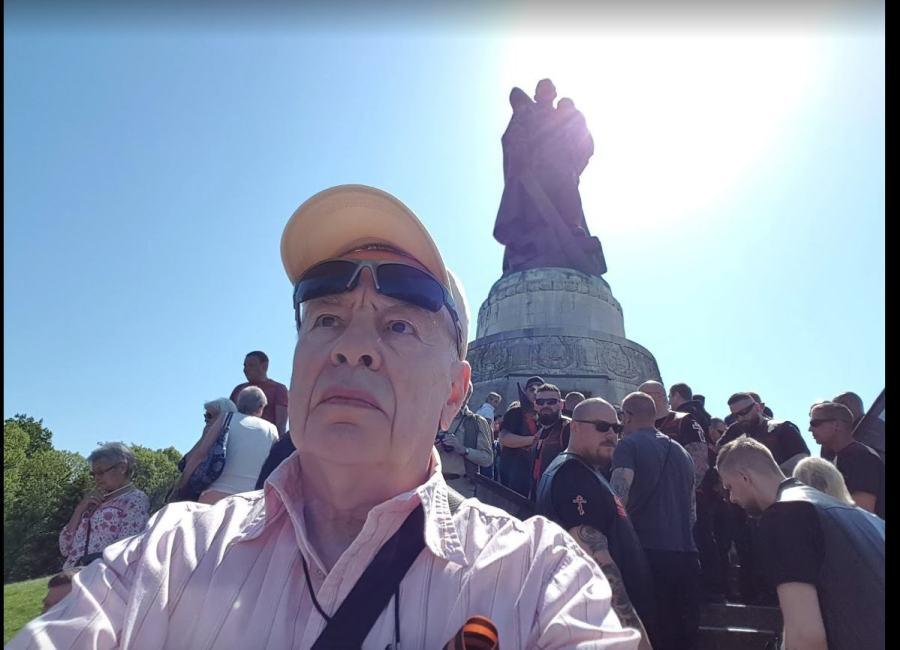 Виктор Зайдентрегер: День Победы — 9 мая 2018, Берлин