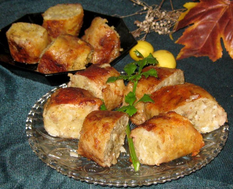 Куриная фаршированная шейка по-еврейски