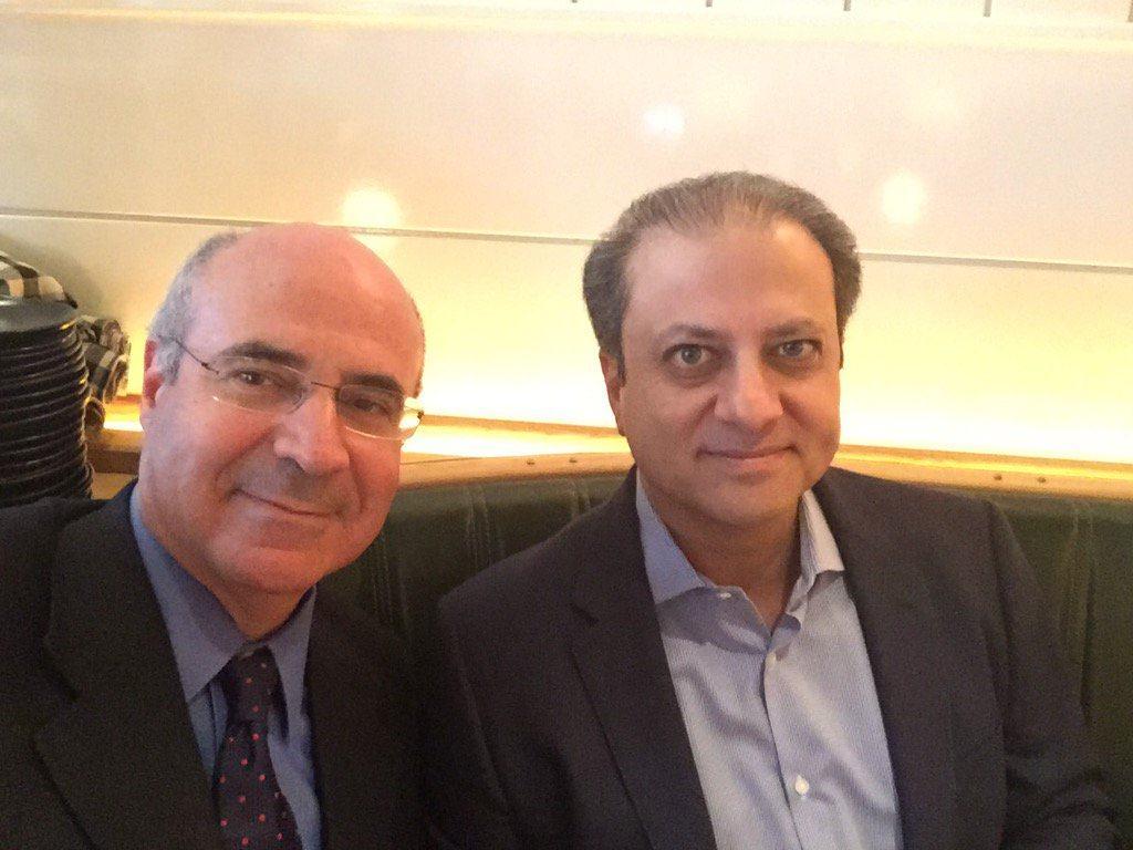 Билл Браудер (слева) и Прит Бхарара