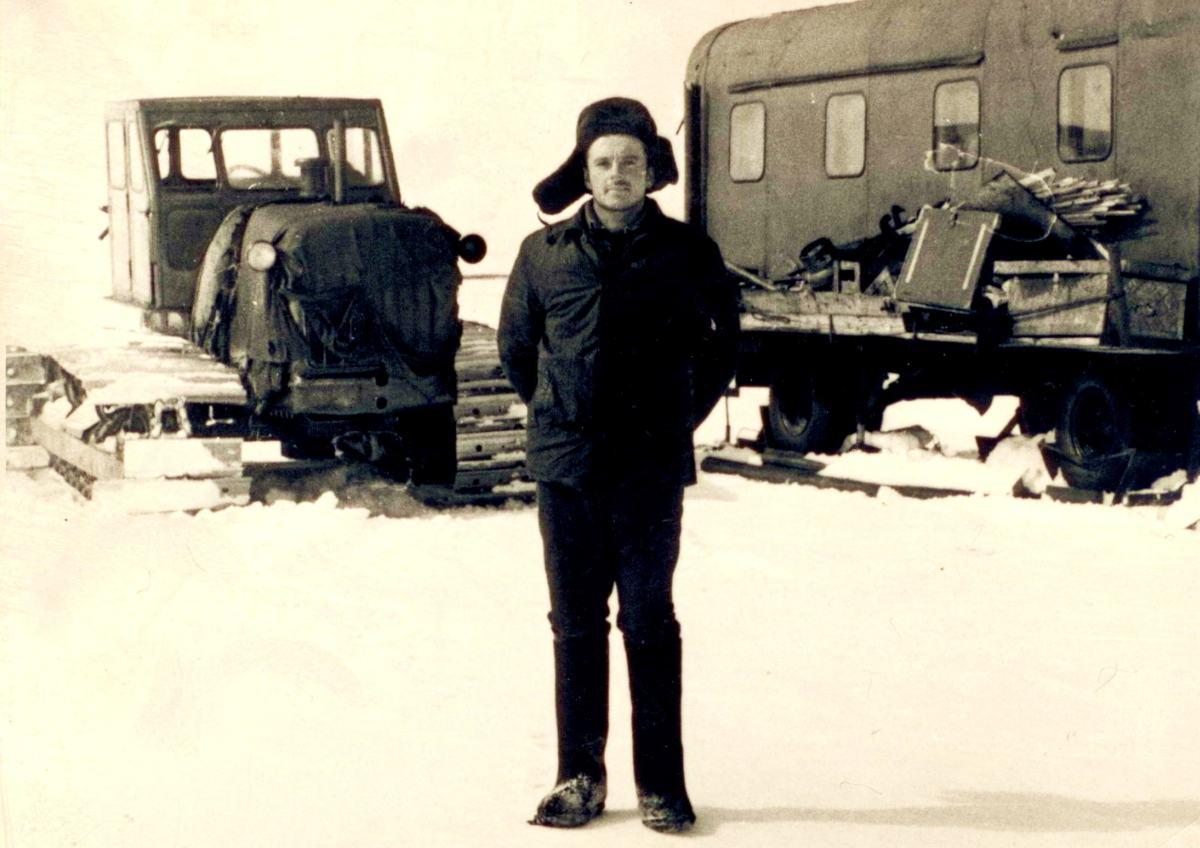 П-ов Ямал, 1970, Г.Быстрицкий — начальник сейсмоотряда