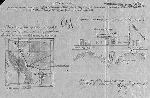 Место форсирования р. Висла 1.08.1944 г. и захоронения войнов 270-го ИСБ