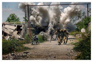 Военный конфликт в Донецкой области