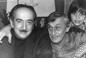 А. Галич и В. Некрасов