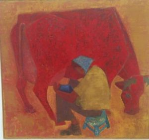 Ори Райзман. Красная корова