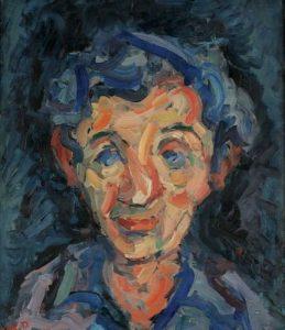 Хаим Атар — Автопортрет — 1952