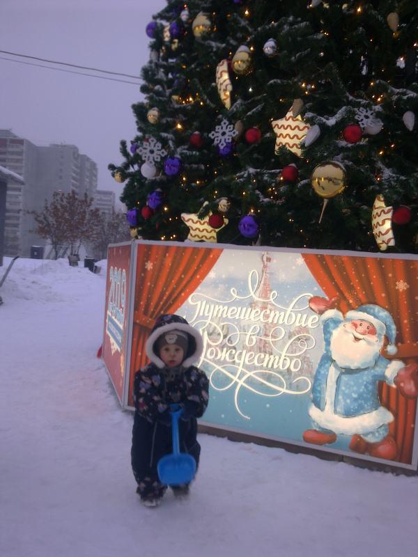 Сергей Баймухаметов: Снег в Москве