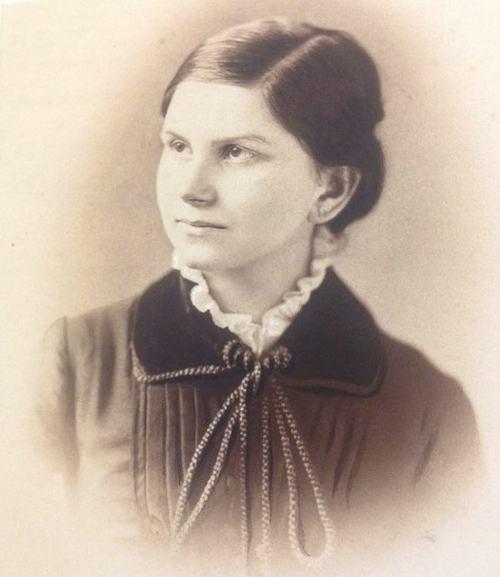 Жаннетт Шварц (1857–1946). Снимок ок. 1885 г.