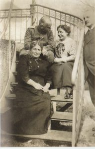 Альберт Ласкер с женой Луизой, сестрой Кларой и братом Даниэль Максом