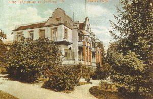 Курортная гостиница Ребхаус, Верхний дом