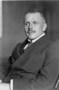 Министр Вооружённых сил Германии Отто Геслер, снимок 1923 года
